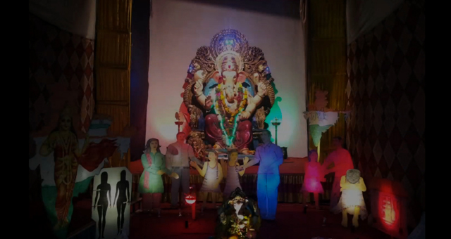 Pandal with a difference