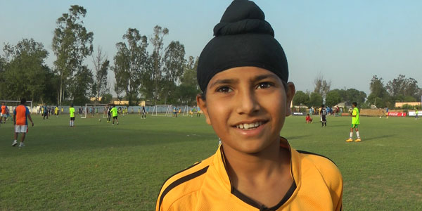Gaganjyot Singh: 14 years old, Punjab