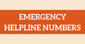 Emergency helpline numbers